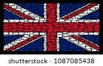 uk state flag pattern composed... | Shutterstock .eps vector #1087085438