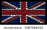 great britain flag concept... | Shutterstock .eps vector #1087086932