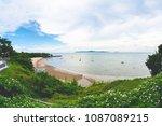 sea view at pattaya  thailand   Shutterstock . vector #1087089215