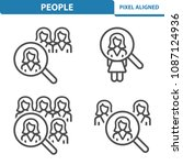 people icons. professional ...   Shutterstock .eps vector #1087124936
