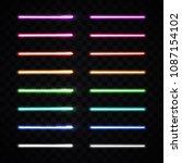 halogen or led light lamp... | Shutterstock .eps vector #1087154102