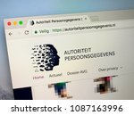 amsterdam  netherlands   may 9  ... | Shutterstock . vector #1087163996