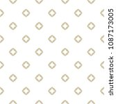 golden seamless pattern. subtle ... | Shutterstock .eps vector #1087173005