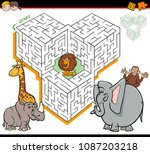 cartoon illustration of... | Shutterstock .eps vector #1087203218