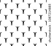stick figure stickman pattern...   Shutterstock .eps vector #1087214885