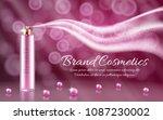 vector 3d realistic ad ... | Shutterstock .eps vector #1087230002