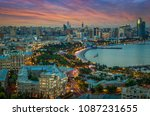 baku. azerbaijan. 15 september... | Shutterstock . vector #1087231655