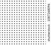 doodle polka dots vector... | Shutterstock .eps vector #1087268096