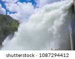 Small photo of A great deal of water and discharge in a dam