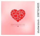 mothers day vector illustration | Shutterstock .eps vector #1087314035