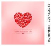 mothers day vector illustration | Shutterstock .eps vector #1087316768
