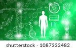 abstract background technology... | Shutterstock .eps vector #1087332482