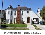 big  custom made an old house ... | Shutterstock . vector #1087351622