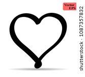 heart linear vector  mobile...