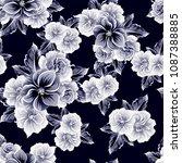 abstract elegance seamless...   Shutterstock . vector #1087388885