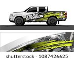 car graphic vector. abstract... | Shutterstock .eps vector #1087426625