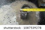 asphalt road is rebuilding. | Shutterstock . vector #1087539278