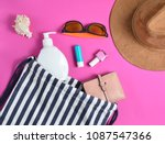 Beach Bag And Accessories For...