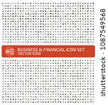 business and finance vector... | Shutterstock .eps vector #1087549568