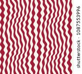 abstract wavy stripes seamless... | Shutterstock .eps vector #1087553996
