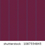 isometric grid. vector seamless ... | Shutterstock .eps vector #1087554845