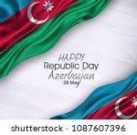 vector illustration of happy...   Shutterstock .eps vector #1087607396
