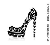 fashion shoes for your design | Shutterstock .eps vector #1087630376