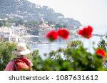 view of the sea coast. spain | Shutterstock . vector #1087631612
