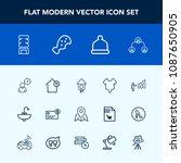 modern  simple vector icon set...   Shutterstock .eps vector #1087650905