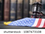 Judge Gavel And United States...