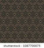 vector seamless pattern.... | Shutterstock .eps vector #1087700075