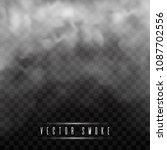 fog or smoke isolated... | Shutterstock .eps vector #1087702556