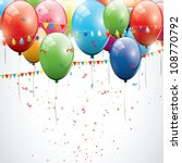 birthday background | Shutterstock .eps vector #108770792