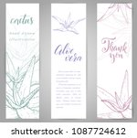 Set Of Banners With Hand Drawn...