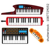 Keyboard Musical Instruments...