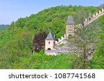 karlstejn  czech republic  ... | Shutterstock . vector #1087741568