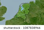 netherlands area on the... | Shutterstock . vector #1087838966
