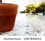 soil made cup of tea | Shutterstock . vector #1087840652