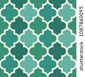 seamless surface design with... | Shutterstock .eps vector #1087860095