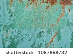 metal texture with scratches... | Shutterstock . vector #1087868732