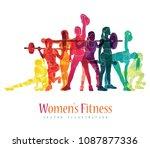 girl sport. girl fitness  gym ...