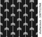 seamless trendy arrow pattern.... | Shutterstock .eps vector #1087911968
