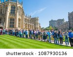 windsor  uk   may 5  2018 ... | Shutterstock . vector #1087930136