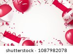 17 august. indonesia... | Shutterstock .eps vector #1087982078