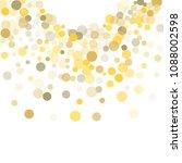 abstract background golden dot...   Shutterstock .eps vector #1088002598