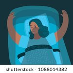 cartoon illustration featuring... | Shutterstock .eps vector #1088014382