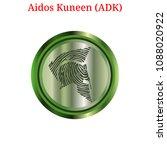 vector aidos kuneen  adk ... | Shutterstock .eps vector #1088020922