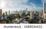 panoramic view of the city... | Shutterstock . vector #1088036432