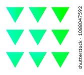 vector gradient reverse... | Shutterstock .eps vector #1088047592