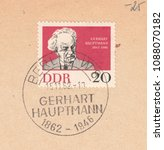 Germany circa 1962 a stamp...